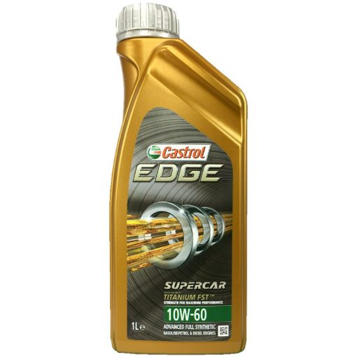 HUILE FULL SYNTHÈSE CASTROL EDGE 10W-60